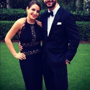 Beautiful black tie dress